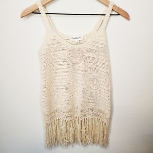 Cloud Chaser Crochet Top Size Small